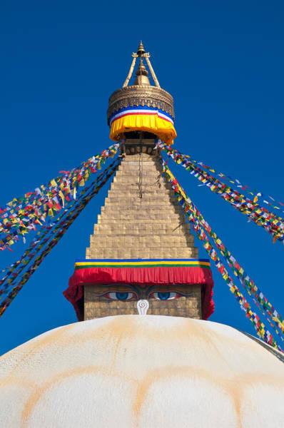 Photograph - Boudhanath Stupa In The Kathmandu Valley by U Schade