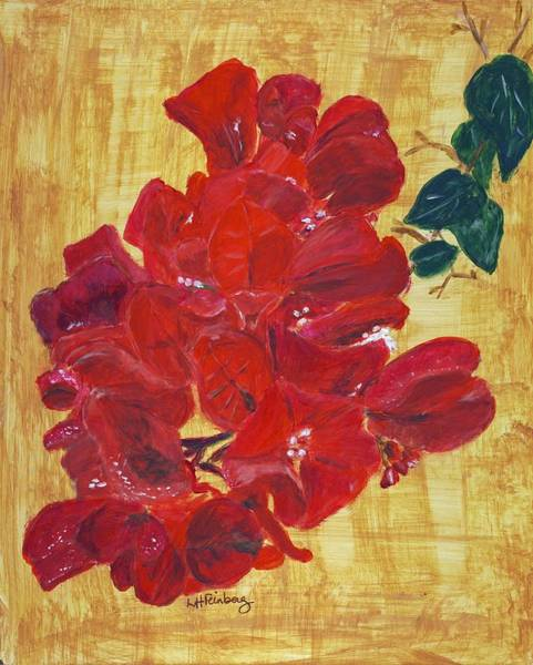 Painting - Bougainvillea by Linda Feinberg