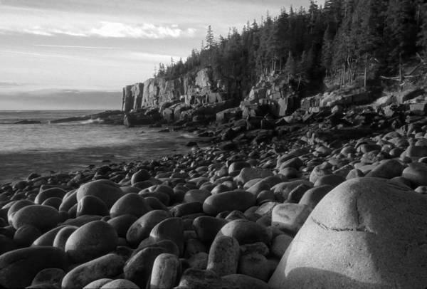 Photograph - Boulder Beach Bw by Jim Dollar