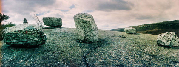 Catskill Photograph - Boulders Along The Gertrudes Nose by Panoramic Images