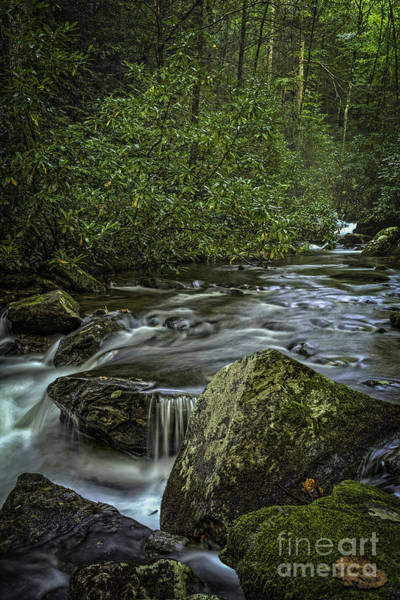 Photograph - Boulders And Stream by David Waldrop