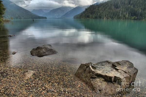 Photograph - Boulders On The Edge Of Cheakamus Lake by Adam Jewell
