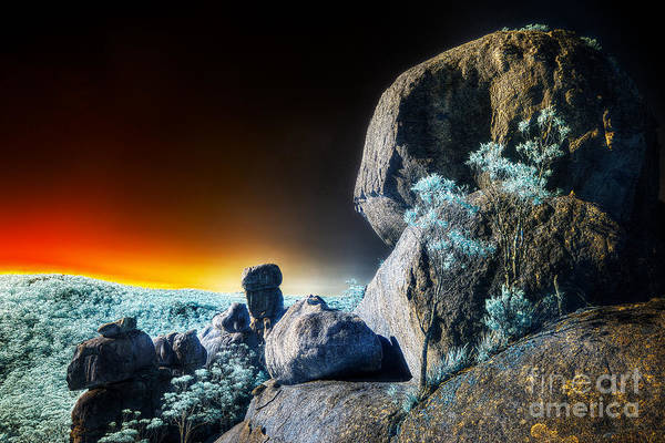 Photograph - Boulders by Russell Brown