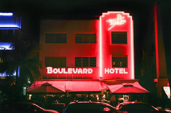 Boulevard Hotel Art Print