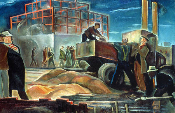 Wall Art - Painting - Boulton Industrial, 1934 by Granger