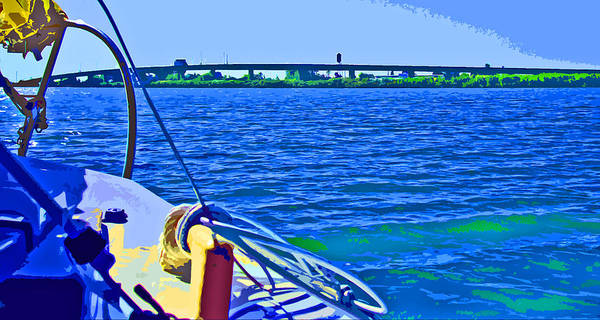 Photograph - Bound For Tower Park Marina by Joseph Coulombe