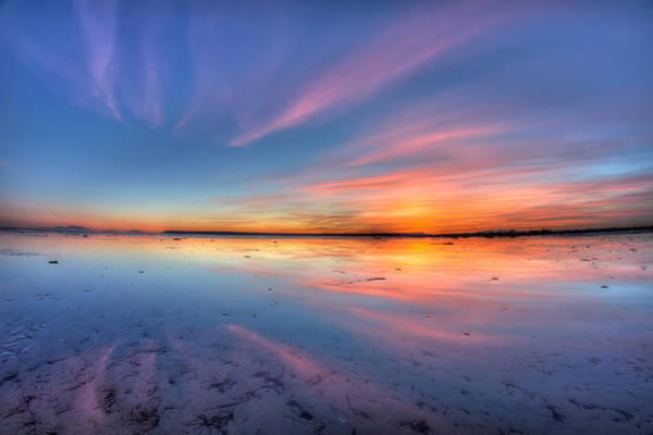 Photograph - Boundary Bay Sunset by Pierre Leclerc Photography
