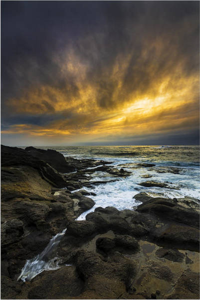 Wall Art - Photograph - Boundary Of The Sea by Robert Bynum