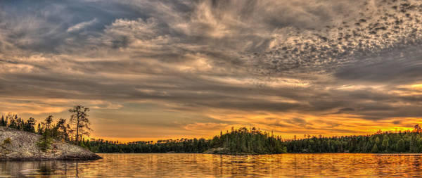 Bwcaw Photograph - Boundary Waters Cherokee Lake by Shane Mossman