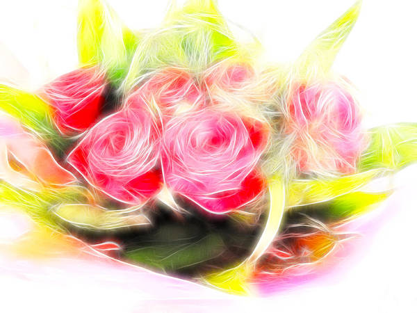 Wall Art - Photograph - Bouquet Of Red by Sharon Lisa Clarke