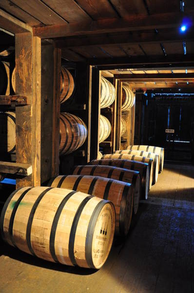 Photograph - Bourbon Barrels by Russell Todd