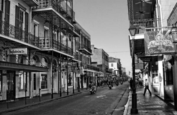 Oyster Bar Wall Art - Photograph - Bourbon Street Afternoon by Greg and Chrystal Mimbs