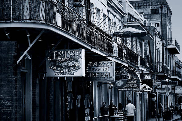 Bourbon Street Wall Art - Photograph - Bourbon Street New Orleans by Christine Till