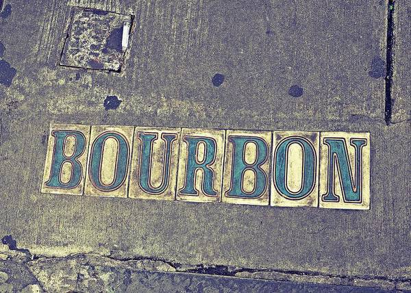 Photograph - Bourbon Street Tiles by Jeanne May