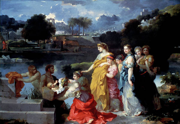 Painting - Bourdon Finding Of Moses by Granger