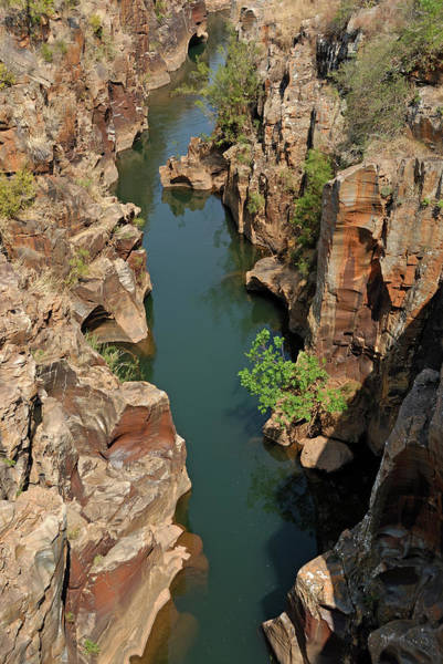 Luck Photograph - Bourkes Luck Potholes, Blyde Canyon by Sami Sarkis