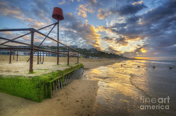Photograph - Bournemouth Beach Sunrise 2.0 by Yhun Suarez