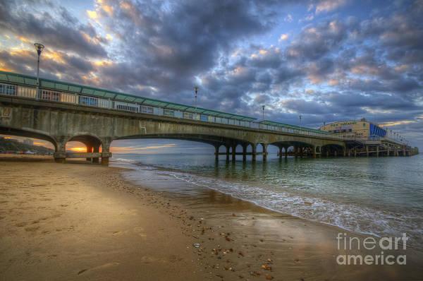 Photograph - Bournemouth Beach Sunrise 3.0 by Yhun Suarez