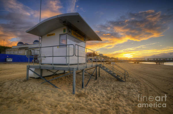 Photograph - Bournemouth Beach Sunrise by Yhun Suarez