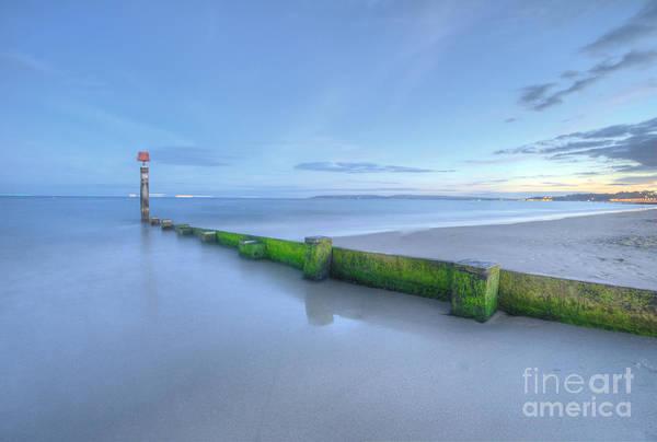 Photograph - Bournemouth Beach Sunset  by Yhun Suarez