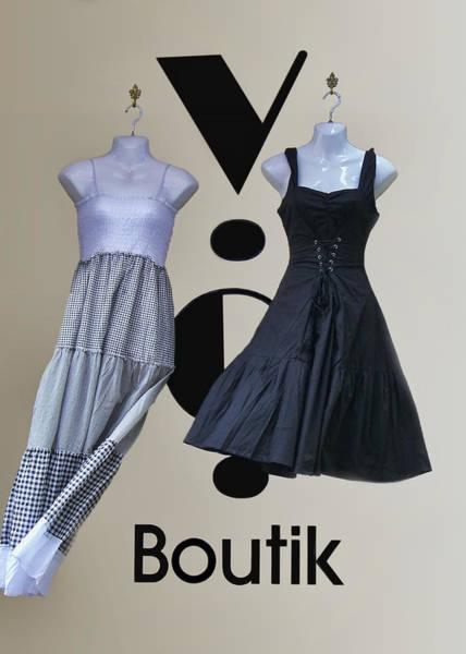 Dress Form Photograph - Boutik by Nikolyn McDonald