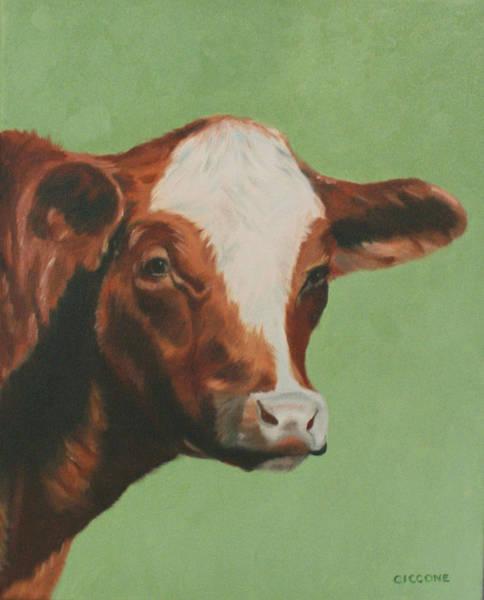 Bovine Beauty Art Print