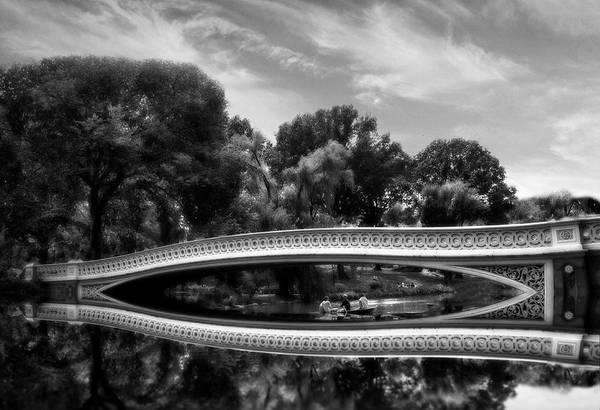 Photograph - Bow Bridge In Monochrome by Jessica Jenney