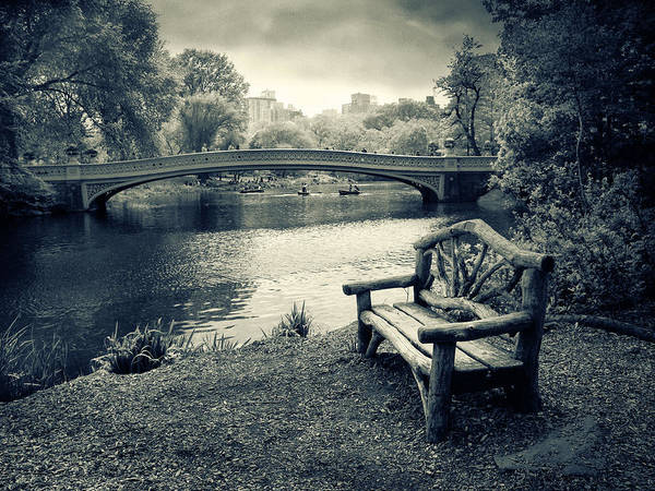 Photograph - Bow Bridge Nostalgia by Jessica Jenney