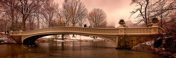 Photograph - Bow Bridge Panorama by Chris Lord