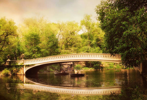 Photograph - Bow Bridge Rowers by Jessica Jenney