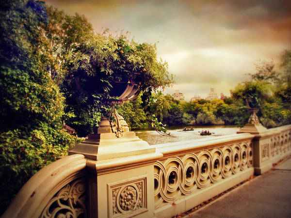 Photograph - Bow Bridge View by Jessica Jenney