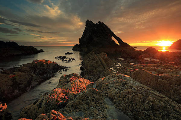 Photograph - Bow Fiddle Rock Sunrise by Grant Glendinning