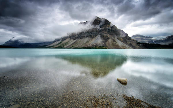 Alberta Wall Art - Photograph - Bow Lake by Andrea Auf Dem