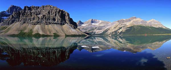 Bow River Wall Art - Photograph - Bow Lake, Banff Nationalpark, Canada by Hans-peter Merten