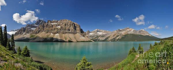 Photograph - Bow Lake Panorama by Charles Kozierok