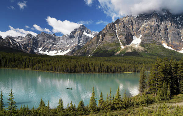 Wall Art - Photograph - Bow Lake by Steve Allen/science Photo Library