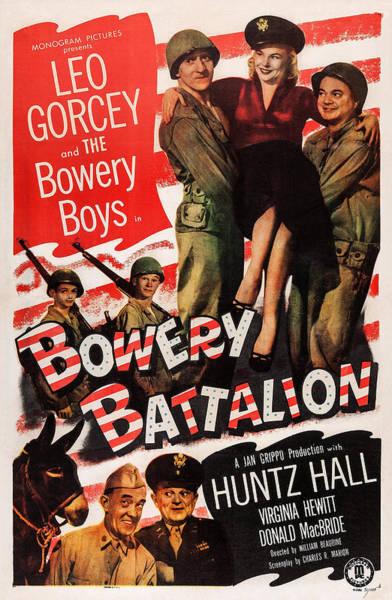 Wall Art - Photograph - Bowery Battalion, Us Poster Art, Top by Everett