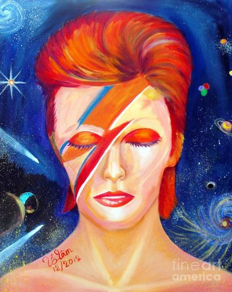 Starman Painting - Bowie's Dream by To-Tam Gerwe