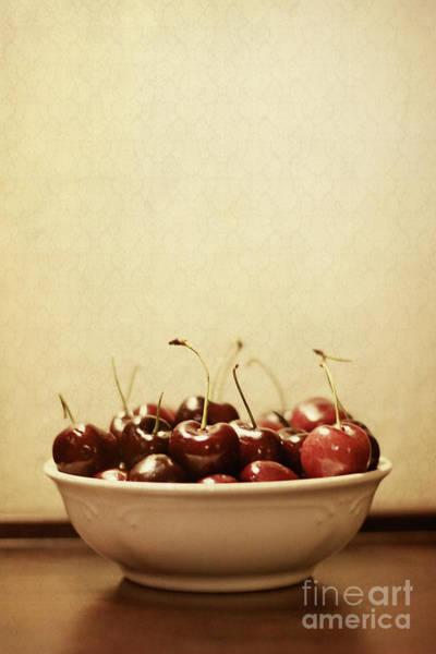Wall Art - Photograph - Bowl O' Cherries  by Trish Mistric