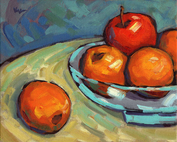 Painting - Bowl Of Fruit 2 by Konnie Kim