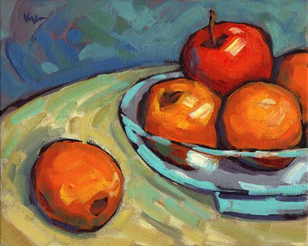 Bowl Of Fruit 2 Art Print