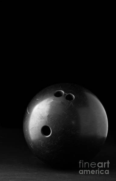 Ten Pin Bowling Wall Art - Photograph - Bowling Ball by Edward Fielding