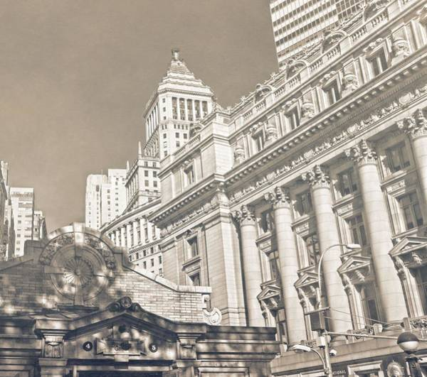 Photograph - Bowling Green In Lower Manhattan by Dan Sproul