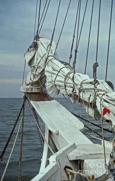 Sailing Terms Photograph - Bowsprit by Skip Willits