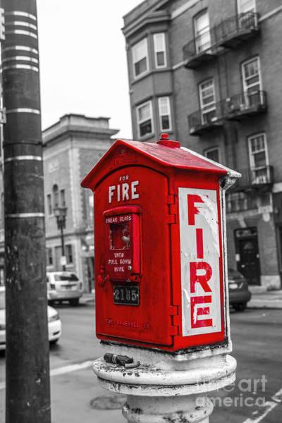Photograph - Box Alarm by Jim Lepard