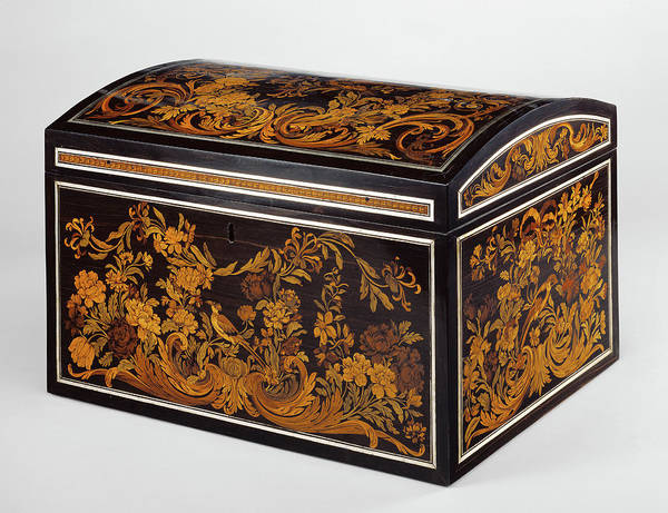 Maple Drawing - Box Attributed To André-charles Boulle, French, 1642 - by Litz Collection