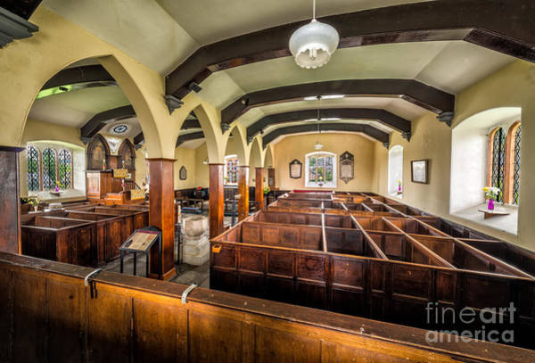 Wall Art - Photograph - Box Pews by Adrian Evans