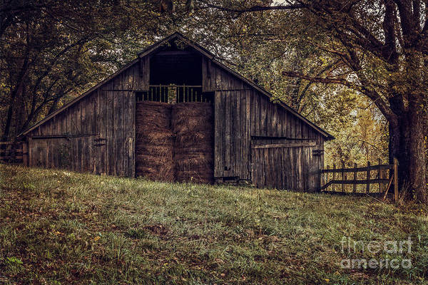 Photograph - Boxley Valley Barn 2 by Larry McMahon