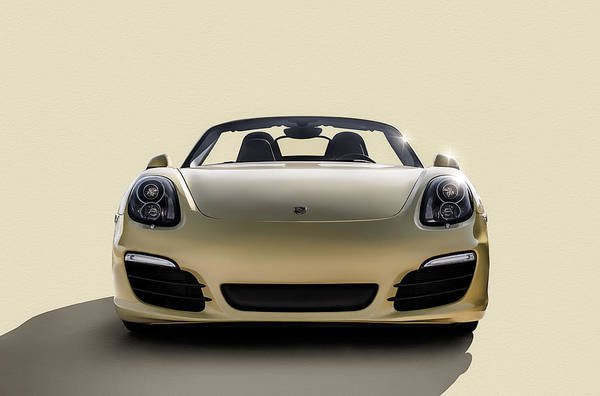 Roadster Wall Art - Digital Art - Boxter by Douglas Pittman