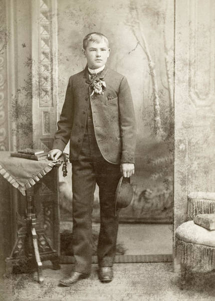 Photograph - Boy, C1880 by Granger